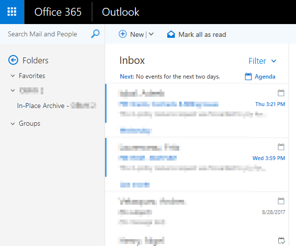 accessing office 365 o365 email in outlook